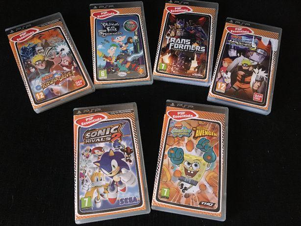Jogos para PSP (usados em excelente estado)