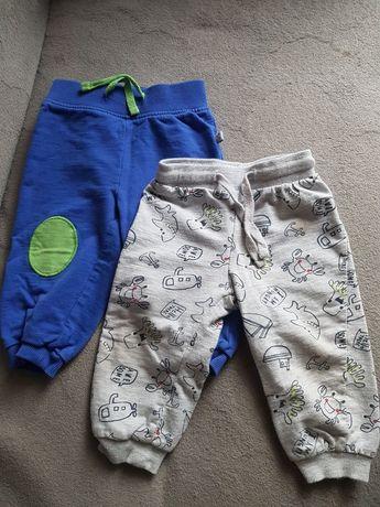 Spodnie dla chłopca 80
