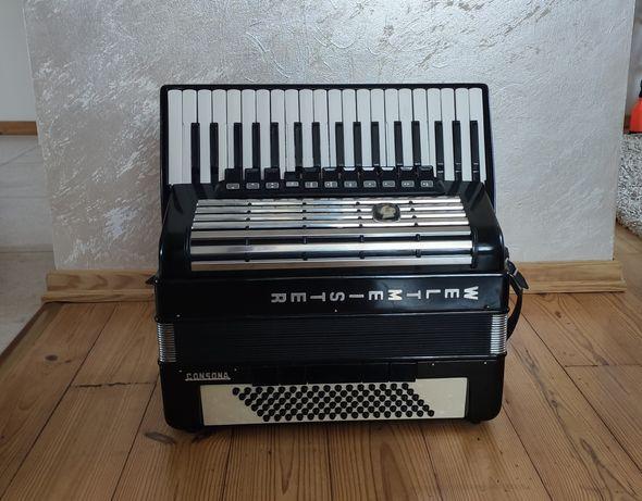 Weltmeister Consona 96 basów b akordeon kanałowy