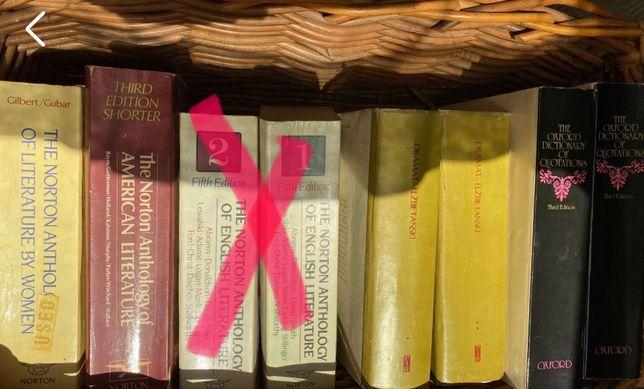 5 książek: antologia Norton Anthology of American lit, of Lit by women