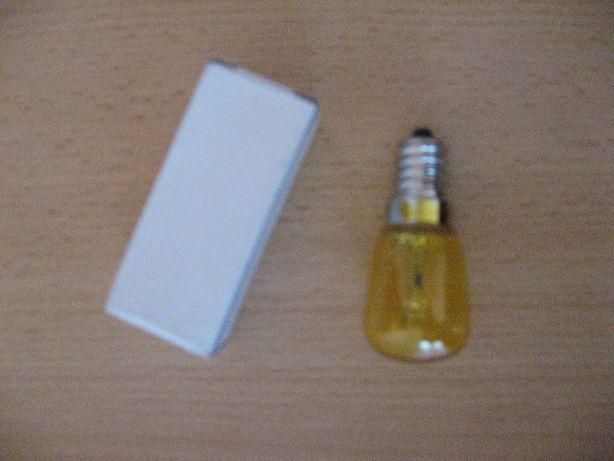 Żarówka 24V 25W E14 żółta clear do lampy ostrzegawczej napędu bramy