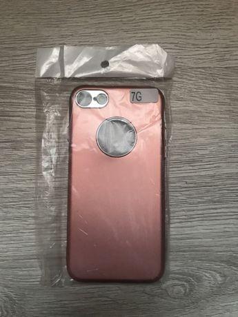 Obudowa etui case iphone 7 8 różowa NOWA