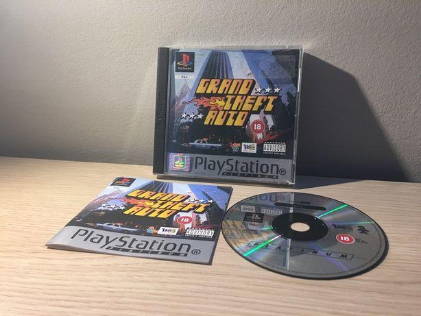 Grand Theft Auto GTA Sony PSX PSOne PlayStation 1 Gra RARYTAS!Wysyłam