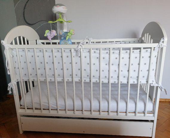 Łóżeczko dziecięce 120x60 z szufladą