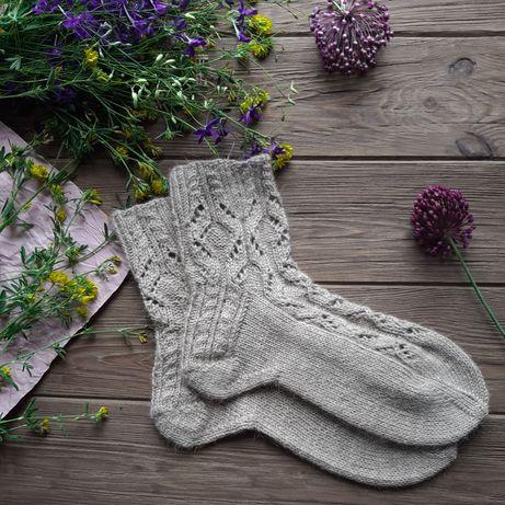 Вязаные  носки. Вяжу на заказ