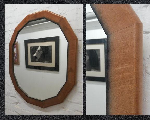 Зеркало Ellipse Dodecagon 75х90 см в деревянной раме