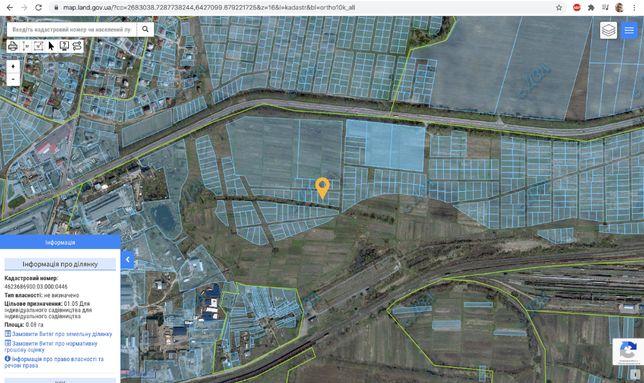 Земельна ділянка 16сот 4км від базару Галицьке Перехрестя