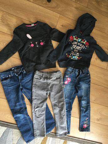 Spodnie i bluzy