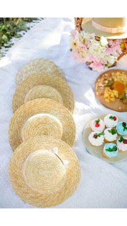 Соломенные шляпки (опт/розница)шляпа соломенная/канотье