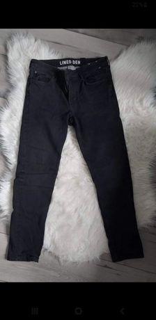 Czarne jeansy rozmiar 158