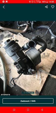 Podstawa obudowa filtra chłodnicza oleju BMW E46 150km