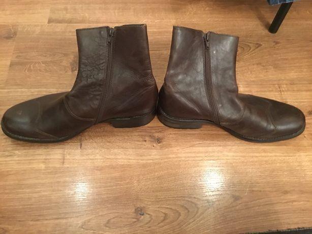 Кожанные мужские сапоги ,ботинки ESPRIT, 42 розмер,стелька 28 см.