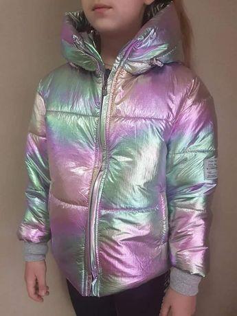 Куртка для девочек Хамелеон р 122 - 146