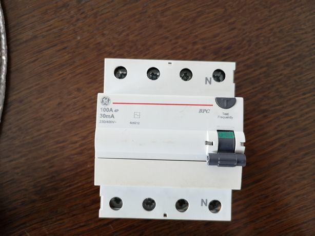 Różnicówka 100A BPC Wyłącznik różnicowo prądowy BPC 3 fazowe