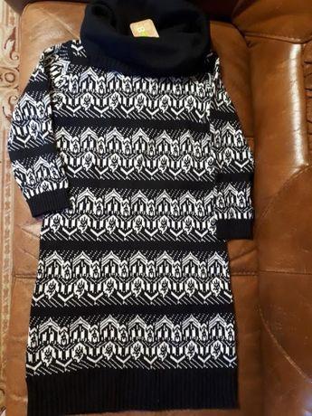 Новое вязаное свитер-платье от Сrazy8 10-12 лет