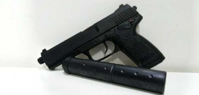 Pistola de  airsoft mk23