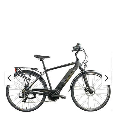 Rower elektryczny TORPADO Eolo M19 28 cali męski Czarny STAN JAK NOWY