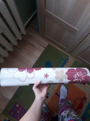 Tapeta Rasch flizelinowa róż, bordo, biały, beż
