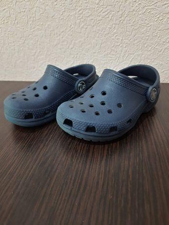 Crocs c 8 15 см кроксы детские тапочки сабо