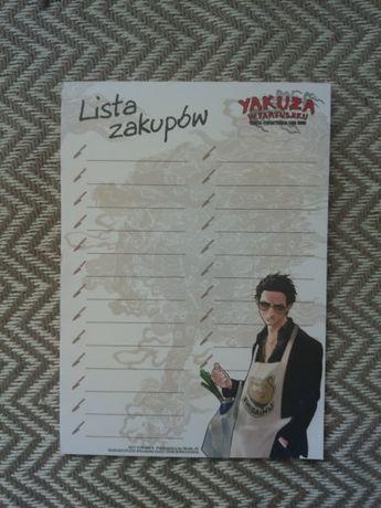 notatnik anime manga - yakuza w fartuszku. kodeks perfekcyjnego pana