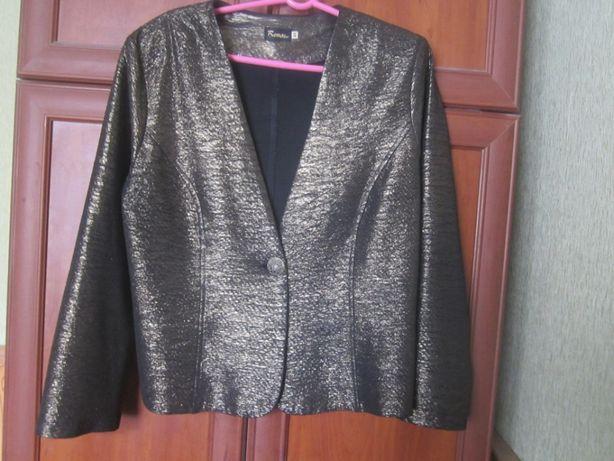 Пиджак нарядный 50-52 размер Практически новый