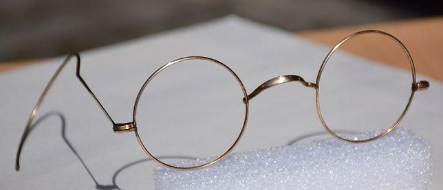stare kolekcjonerskie okulary