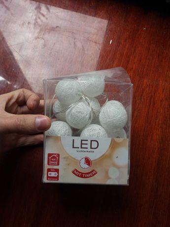 Led гірлянда (лампочки) на батарейках 2шт АА