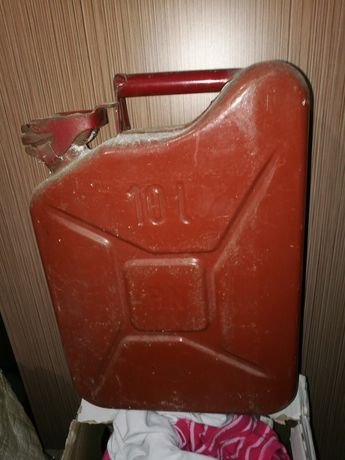 Kanister 10 L metalowy 1976