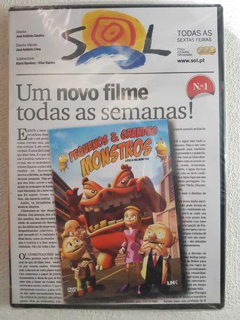 Pequenos & Grandes Monstros - DVD - Selado