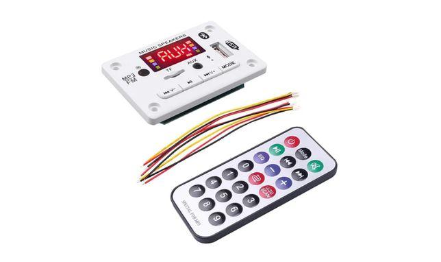 MP3 плеер Bluetooth5.0 FM USB microSD авто модуль12V MP3 FLAC WMA WAV