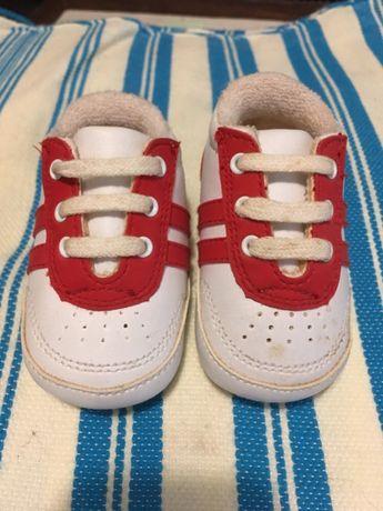 Conjunto sapatos / tennis bebe