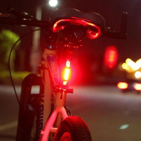 Задний фонарь, задний стоп на велосипед на аккумуляторе.