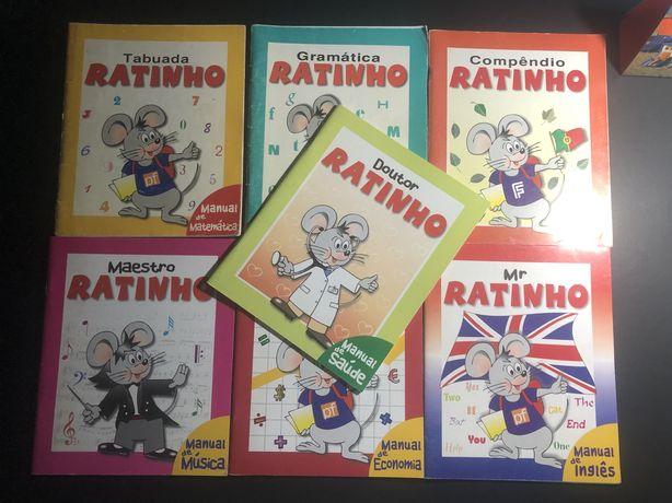 Tabuada do Ratinho e Todos os volumes