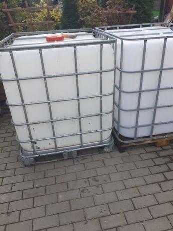 Zbiorniki mauzer 1000 l i 600 l