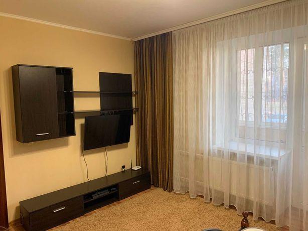 Двухкомнатная большая квартира с ремонтом, мебелью!
