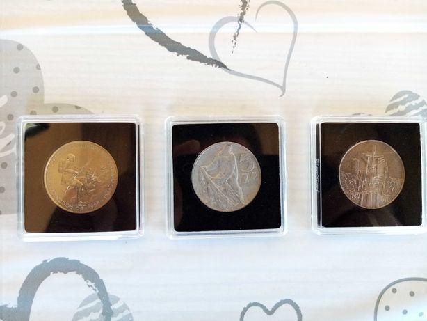 Zestaw 3 monet PRL