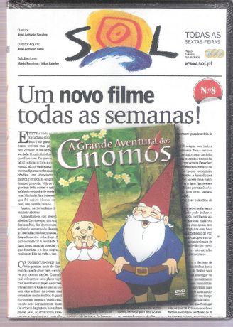 Filme DVD A Grande Aventura dos Gnomos