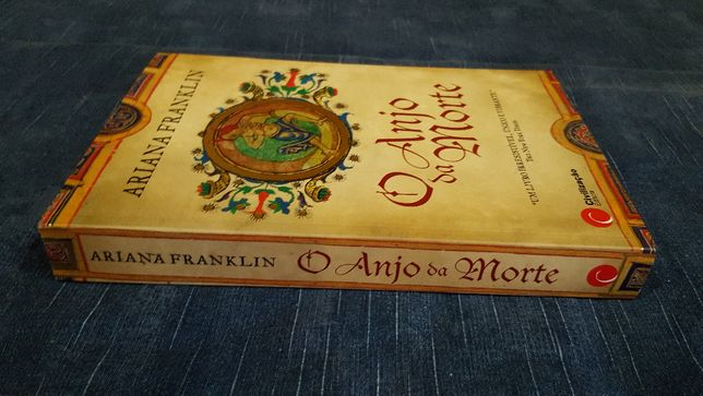 """Livro """"O ANJO da MORTE"""" de Ariana Franklin"""