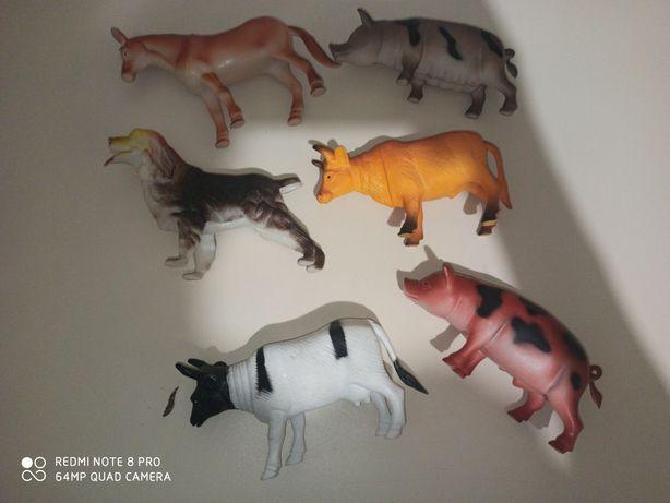 Набор игрушки домашние животные коллекция