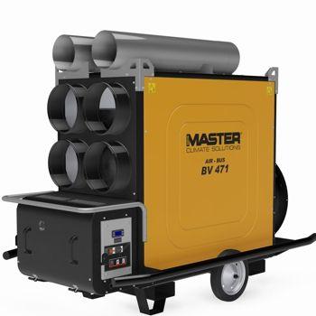Gerador de ar quente a diesel série AIR-BUS (combustão indireta) 136Kw