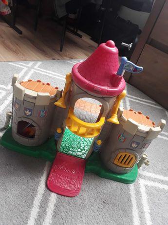 Zamek rycerski otwierane wieżyczki