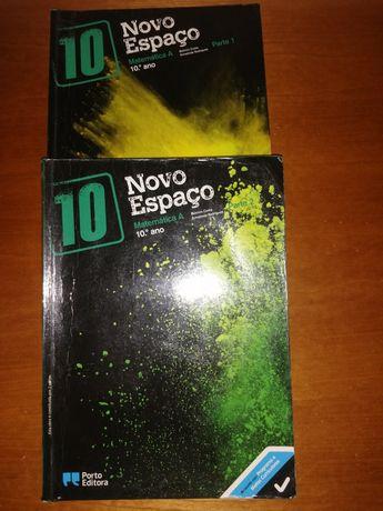 Livro de matemática 10°ano.