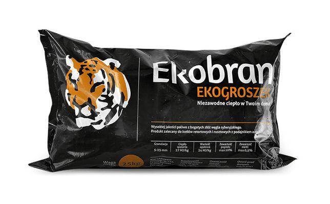 Najlepszy Węgiel Ekogroszek Workowany 1 Tona w workach po 25kg