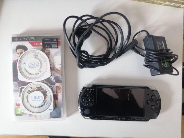 Konsola PSP 3004 przerobiona dodatkowo gry