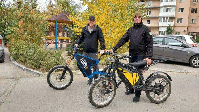 Електровелосипед для кур'єрів