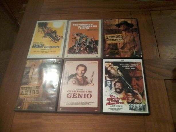 DVD - Diversos WESTERN - Trinitá o Cowboy Insolente