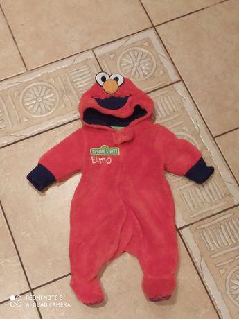 Pajac,śpiochy Elmo