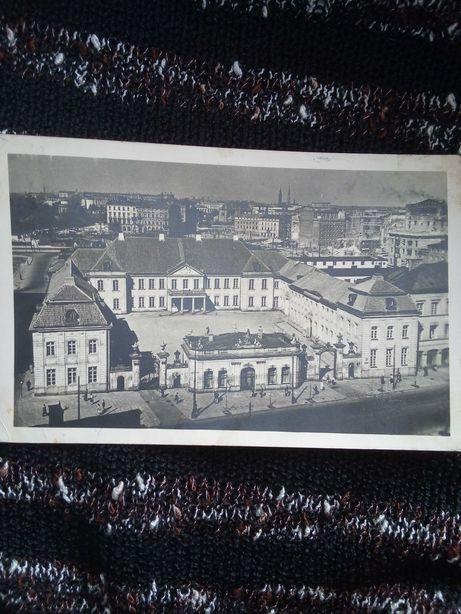 Pocztówka Krakowskie Przedmieście z 1955