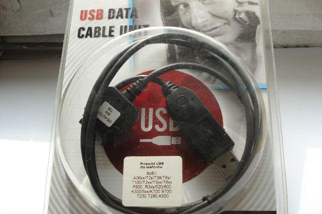Przewód USB ( PC GSM) do telefonów Sony-Ericsson - sprzedam