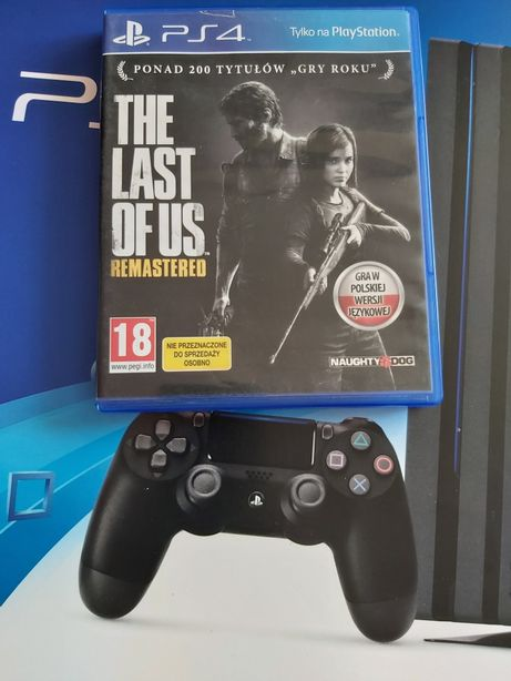 Gra na PlayStation 4 The Last of us wersja pl hit